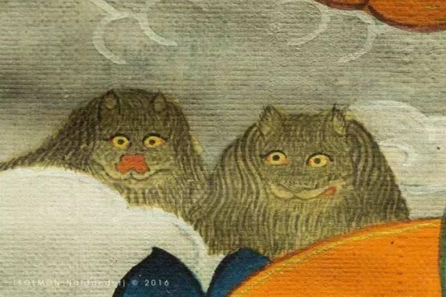 蒙古第一世哲布尊丹巴活佛亲身书画的圣主成吉思汗之像 第16张 蒙古第一世哲布尊丹巴活佛亲身书画的圣主成吉思汗之像 蒙古画廊
