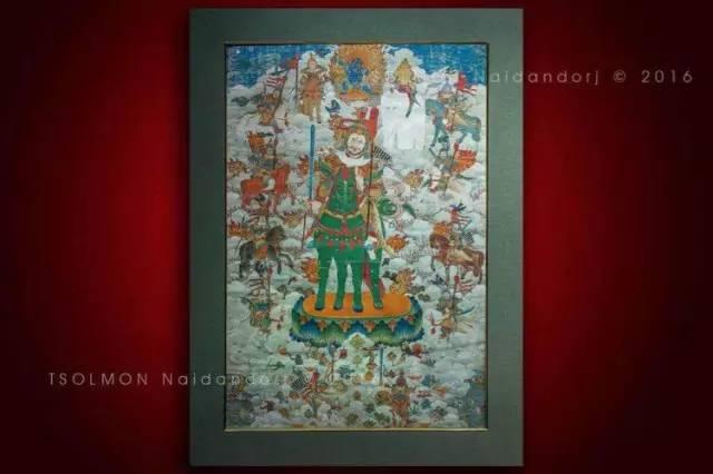 蒙古第一世哲布尊丹巴活佛亲身书画的圣主成吉思汗之像 第26张 蒙古第一世哲布尊丹巴活佛亲身书画的圣主成吉思汗之像 蒙古画廊