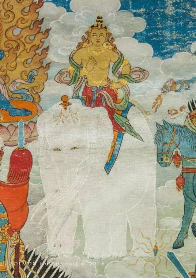 蒙古第一世哲布尊丹巴活佛亲身书画的圣主成吉思汗之像 第31张 蒙古第一世哲布尊丹巴活佛亲身书画的圣主成吉思汗之像 蒙古画廊
