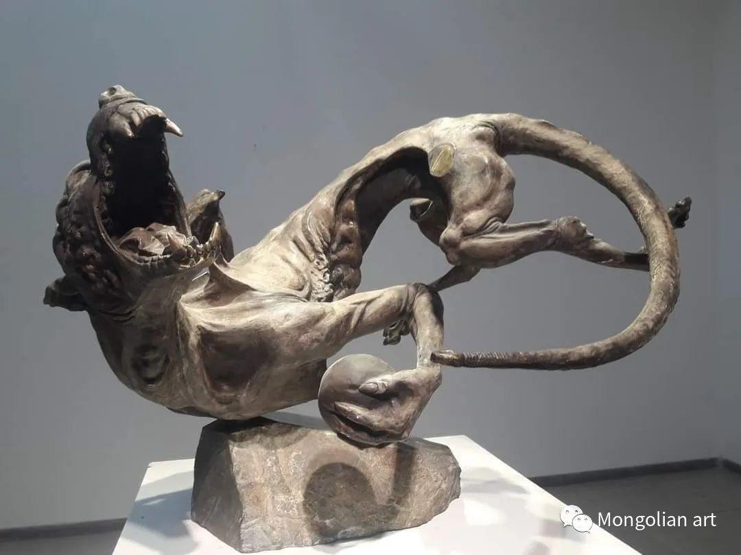 蒙古国美术家协会会员雕塑家 Davaadorj Ankhbayar 第5张 蒙古国美术家协会会员雕塑家 Davaadorj Ankhbayar 蒙古画廊