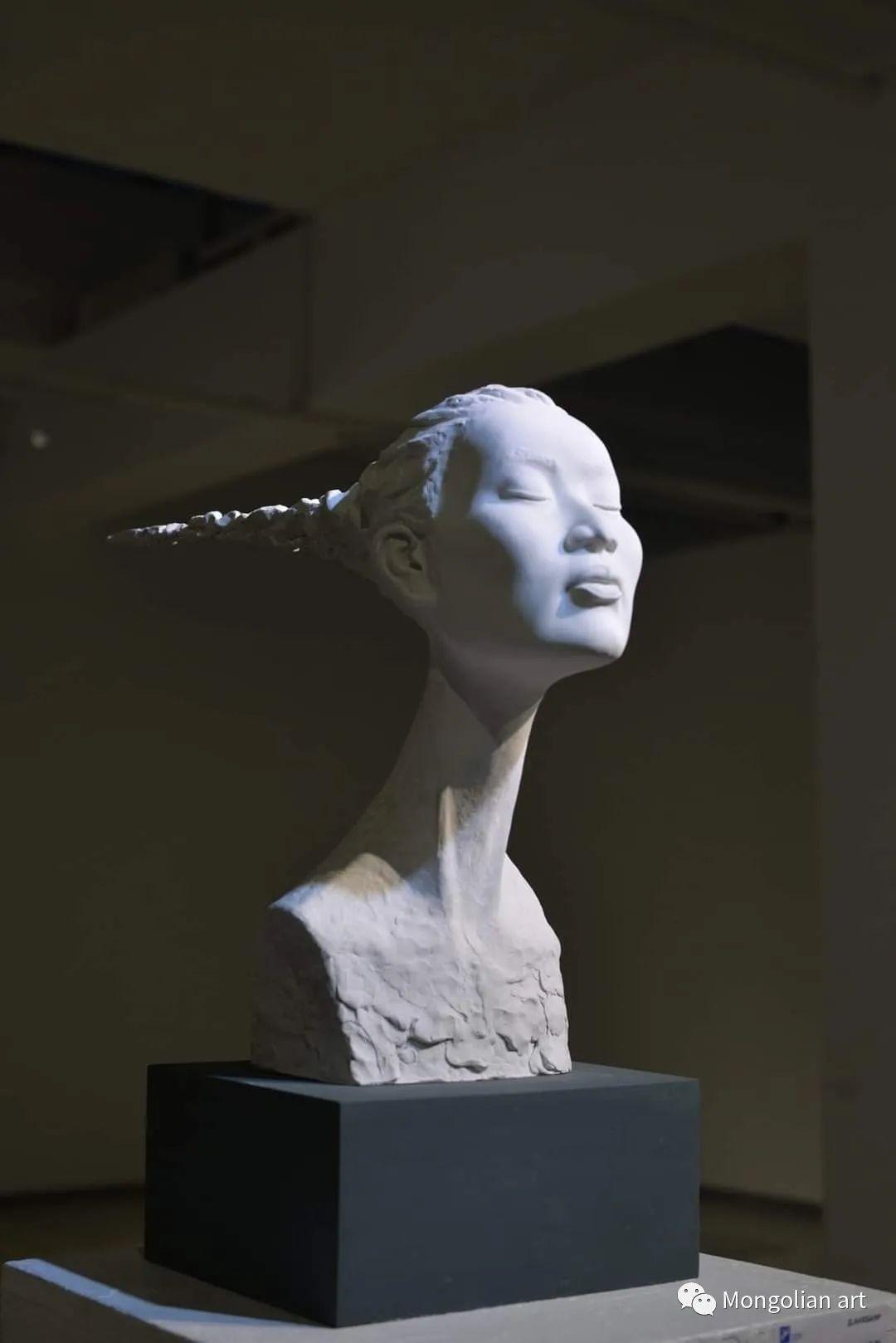 蒙古国美术家协会会员雕塑家 Davaadorj Ankhbayar 第7张 蒙古国美术家协会会员雕塑家 Davaadorj Ankhbayar 蒙古画廊