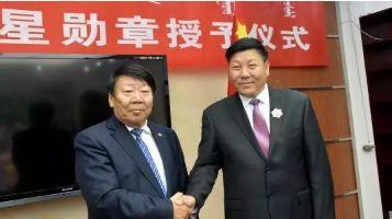 """蒙古国总统通过驻华大使丹巴·冈呼雅格为腾格尔颁发了 """"北极星勋章"""" 第11张 蒙古国总统通过驻华大使丹巴·冈呼雅格为腾格尔颁发了 """"北极星勋章"""" 蒙古音乐"""
