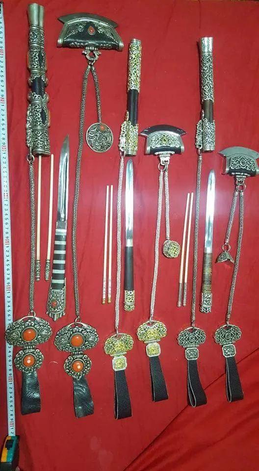 蒙古族佩刀装饰艺术 第6张