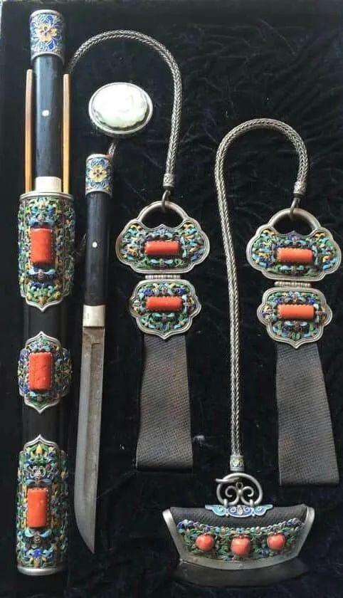 蒙古族佩刀装饰艺术 第4张