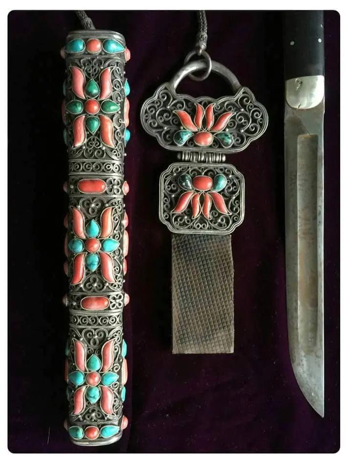 蒙古族佩刀装饰艺术 第9张