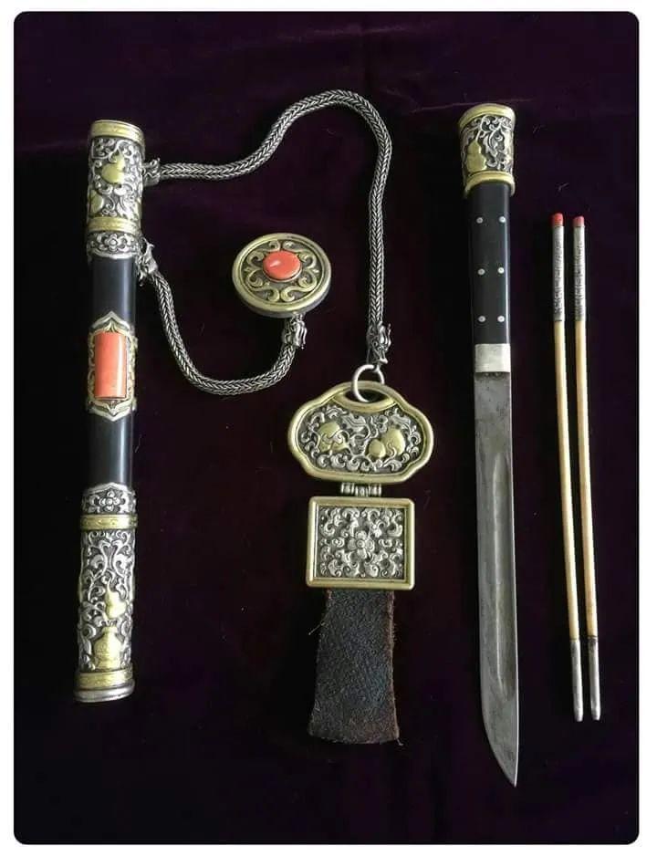蒙古族佩刀装饰艺术 第10张