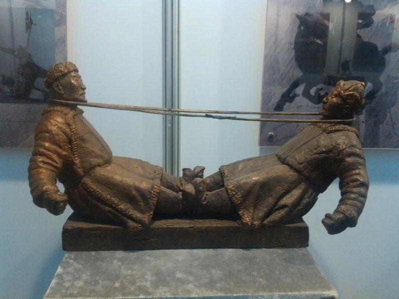 【艺术】蒙古风格的现代雕塑.雕刻 第4张 【艺术】蒙古风格的现代雕塑.雕刻 蒙古画廊