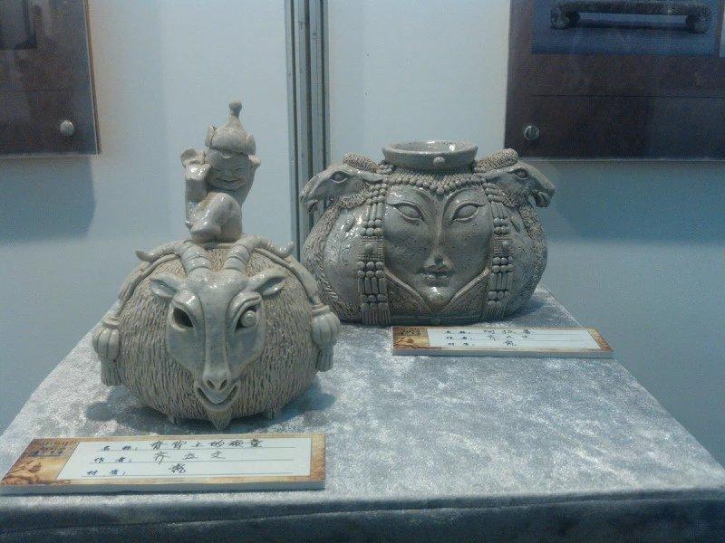 【艺术】蒙古风格的现代雕塑.雕刻 第17张 【艺术】蒙古风格的现代雕塑.雕刻 蒙古画廊
