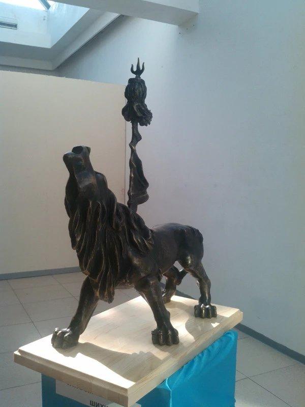 【艺术】蒙古风格的现代雕塑.雕刻 第36张 【艺术】蒙古风格的现代雕塑.雕刻 蒙古画廊