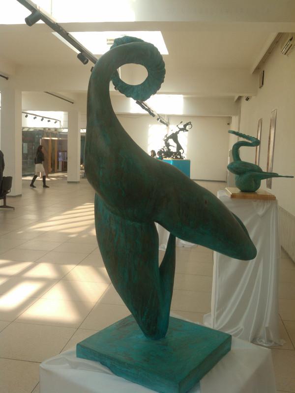 【艺术】蒙古风格的现代雕塑.雕刻 第41张 【艺术】蒙古风格的现代雕塑.雕刻 蒙古画廊