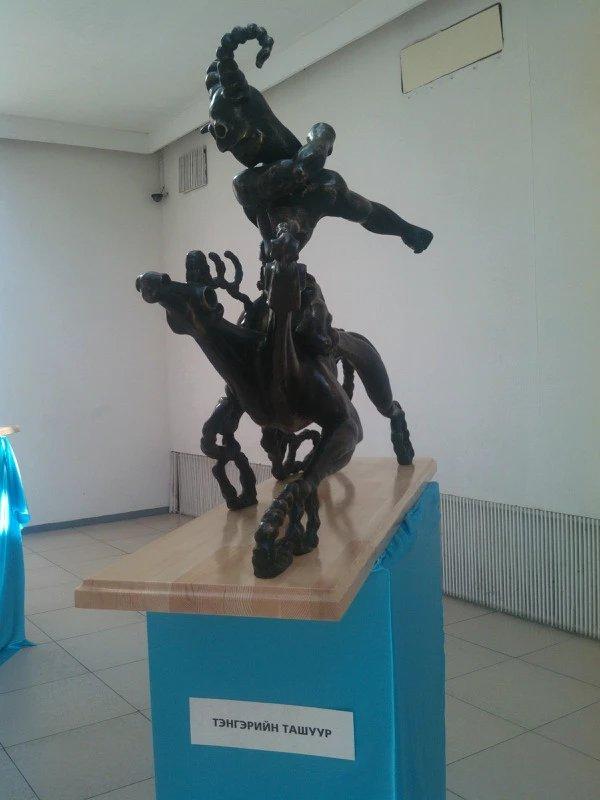 【艺术】蒙古风格的现代雕塑.雕刻 第50张 【艺术】蒙古风格的现代雕塑.雕刻 蒙古画廊