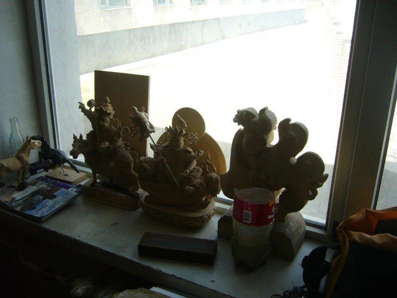 【艺术】蒙古风格的现代雕塑.雕刻 第61张 【艺术】蒙古风格的现代雕塑.雕刻 蒙古画廊