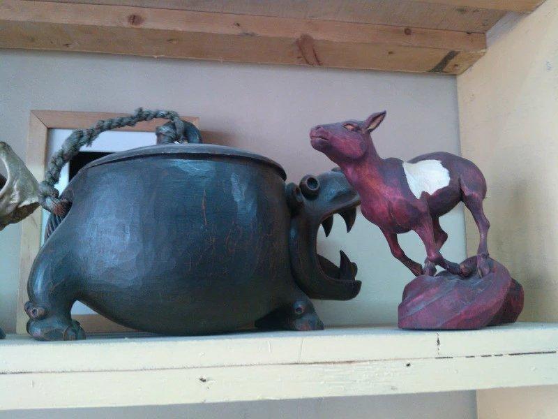 【艺术】蒙古风格的现代雕塑.雕刻 第57张 【艺术】蒙古风格的现代雕塑.雕刻 蒙古画廊