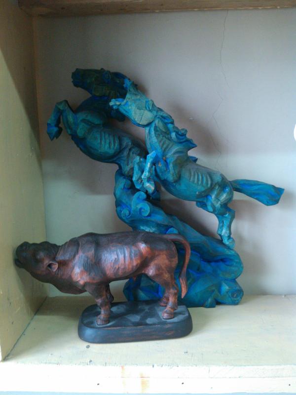 【艺术】蒙古风格的现代雕塑.雕刻 第54张 【艺术】蒙古风格的现代雕塑.雕刻 蒙古画廊