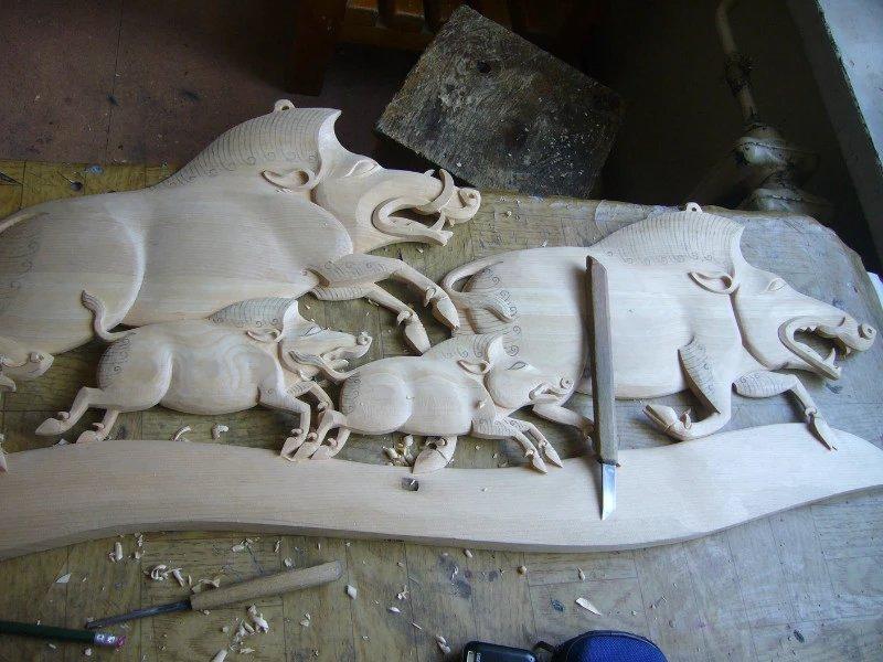 【艺术】蒙古风格的现代雕塑.雕刻 第60张 【艺术】蒙古风格的现代雕塑.雕刻 蒙古画廊