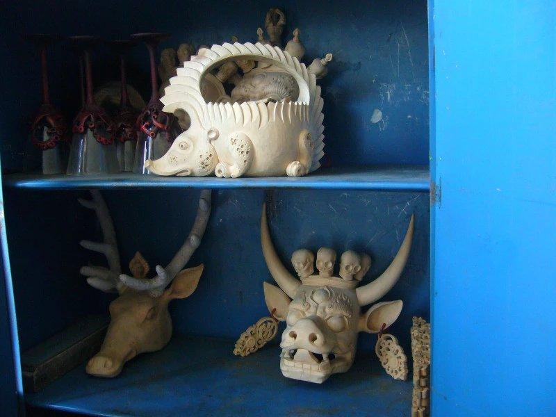 【艺术】蒙古风格的现代雕塑.雕刻 第69张 【艺术】蒙古风格的现代雕塑.雕刻 蒙古画廊