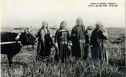 蒙古风俗(民国日本明信片) 第3张 蒙古风俗(民国日本明信片) 蒙古文化