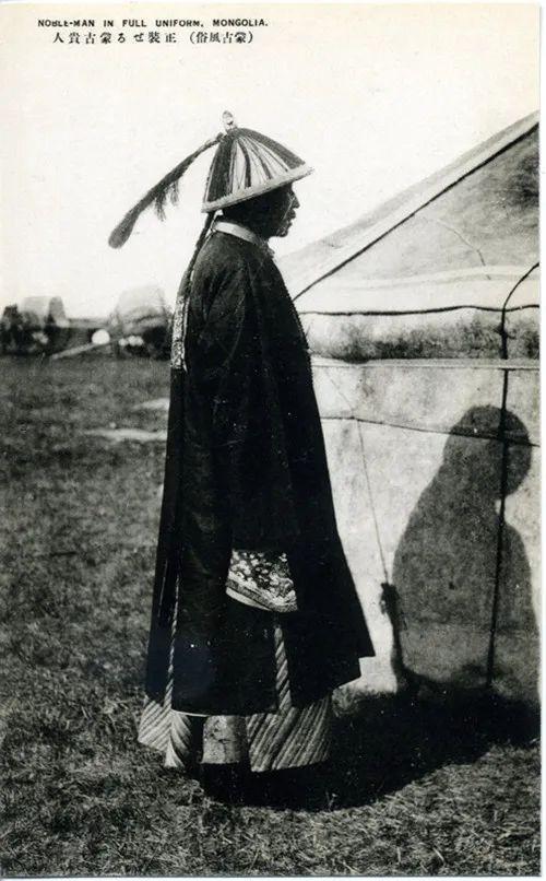 蒙古风俗(民国日本明信片) 第2张 蒙古风俗(民国日本明信片) 蒙古文化
