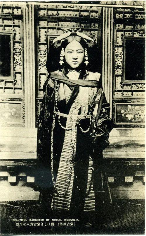 蒙古风俗(民国日本明信片) 第5张 蒙古风俗(民国日本明信片) 蒙古文化