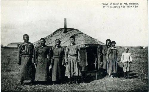 蒙古风俗(民国日本明信片) 第4张 蒙古风俗(民国日本明信片) 蒙古文化