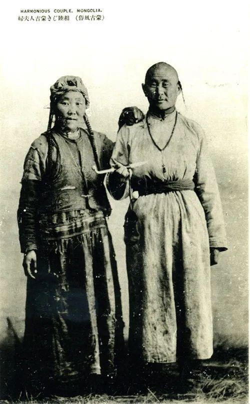 蒙古风俗(民国日本明信片) 第7张 蒙古风俗(民国日本明信片) 蒙古文化