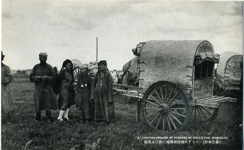 蒙古风俗(民国日本明信片) 第10张 蒙古风俗(民国日本明信片) 蒙古文化