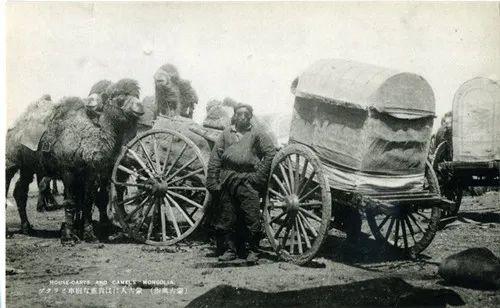 蒙古风俗(民国日本明信片) 第11张 蒙古风俗(民国日本明信片) 蒙古文化