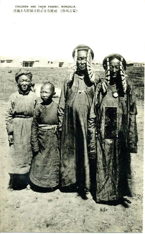 蒙古风俗(民国日本明信片) 第12张 蒙古风俗(民国日本明信片) 蒙古文化