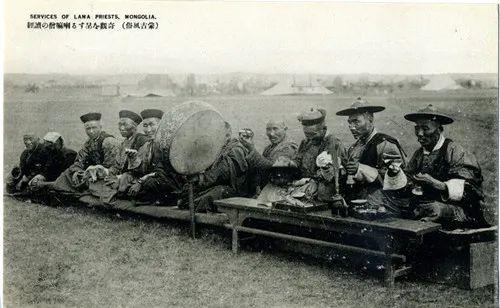 蒙古风俗(民国日本明信片) 第15张 蒙古风俗(民国日本明信片) 蒙古文化