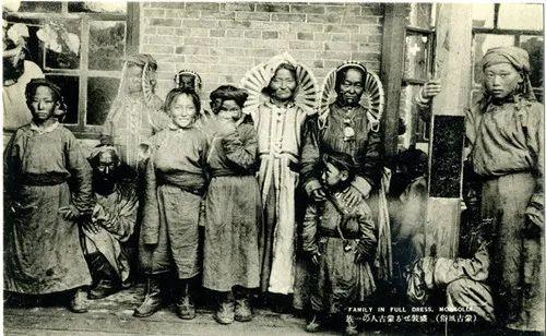 蒙古风俗(民国日本明信片) 第14张 蒙古风俗(民国日本明信片) 蒙古文化