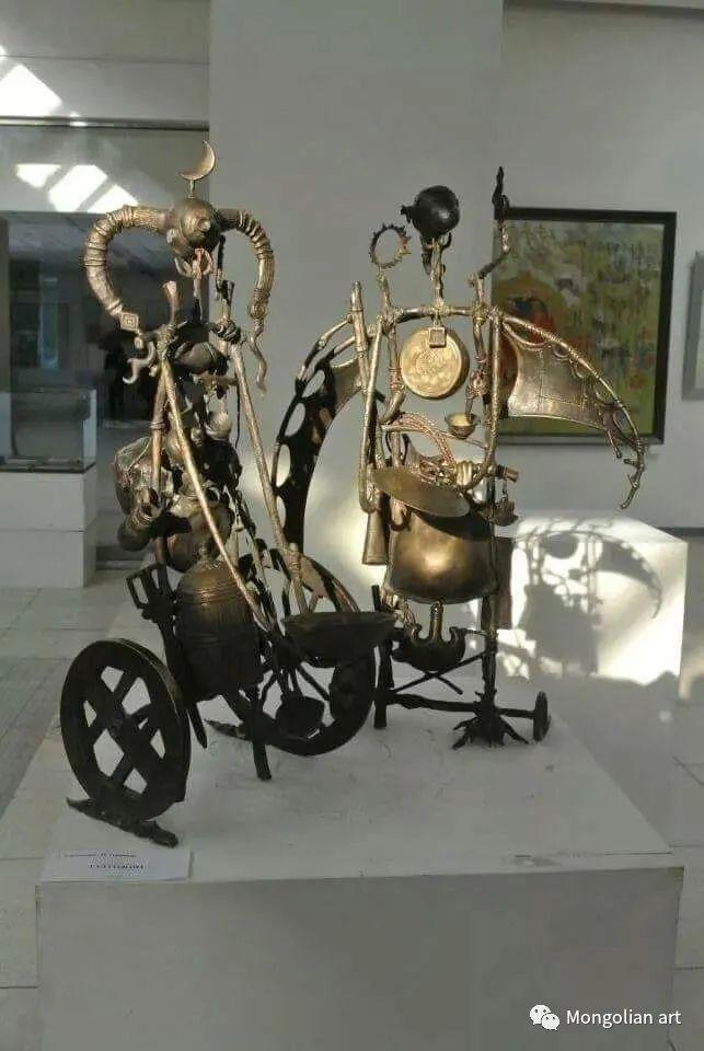 蒙古艺术博物馆获奖雕塑家Tuvdendorj Darzav 第3张 蒙古艺术博物馆获奖雕塑家Tuvdendorj Darzav 蒙古画廊
