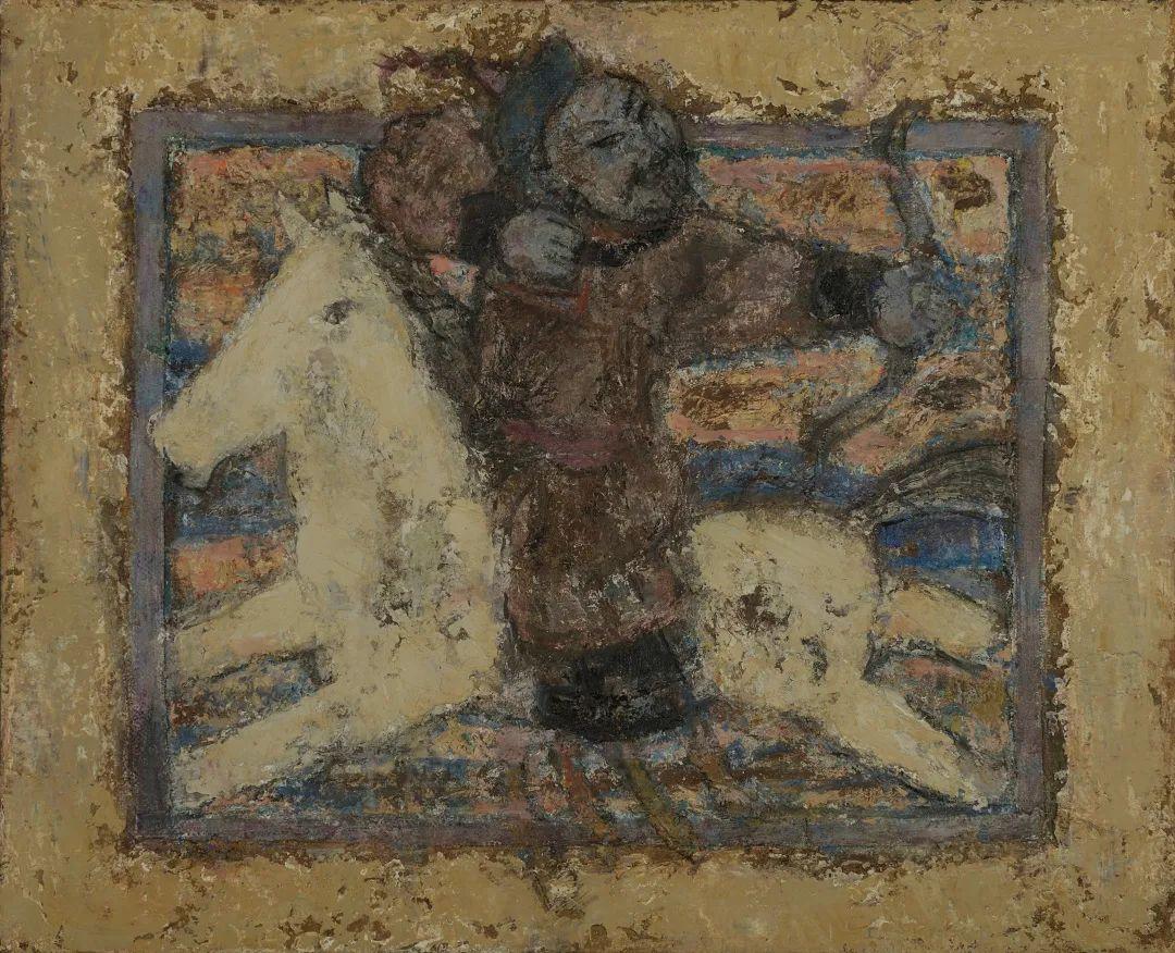 身边的名家|砂金的油画写生 第2张 身边的名家|砂金的油画写生 蒙古画廊
