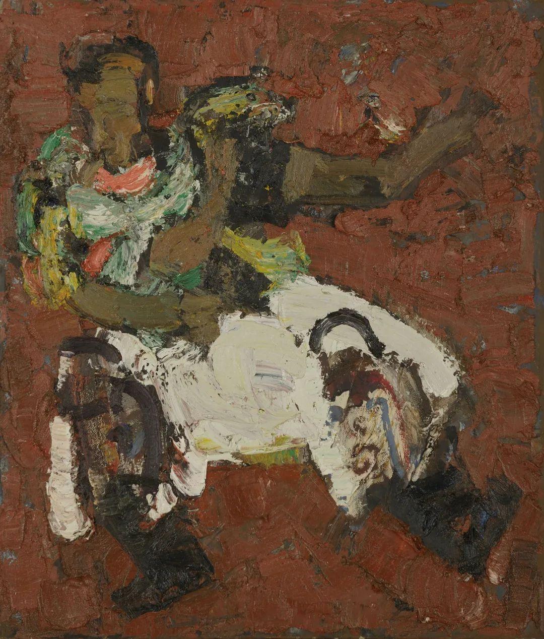身边的名家|砂金的油画写生 第7张 身边的名家|砂金的油画写生 蒙古画廊