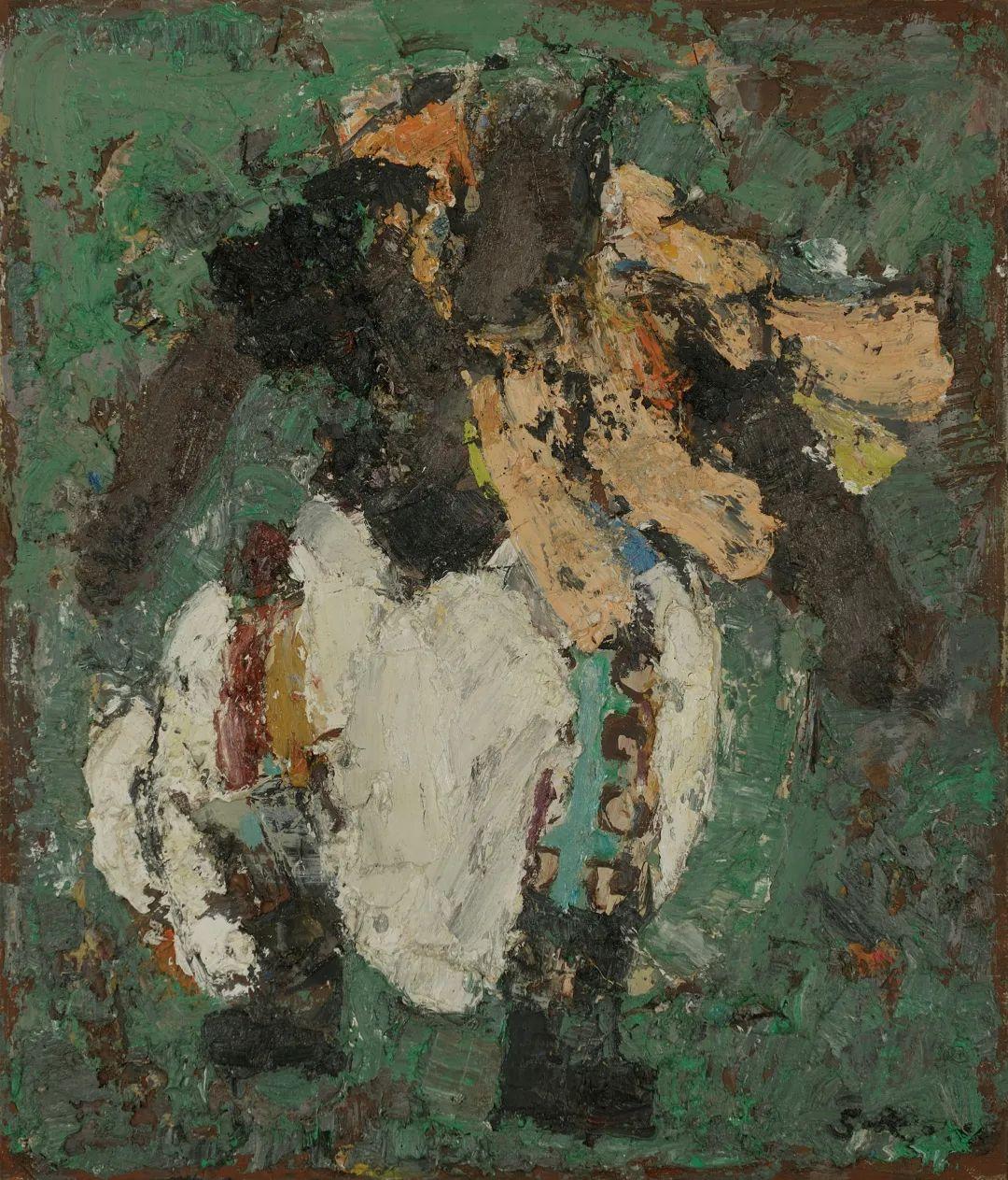身边的名家|砂金的油画写生 第9张 身边的名家|砂金的油画写生 蒙古画廊
