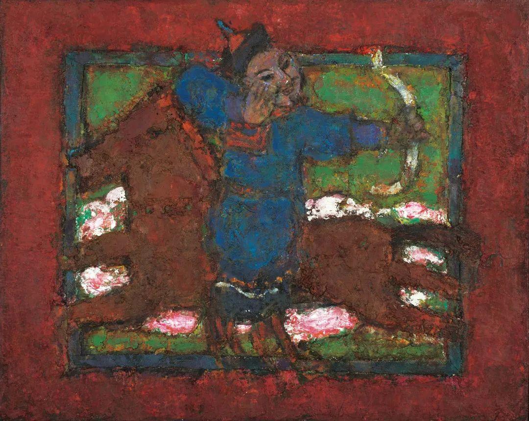 身边的名家|砂金的油画写生 第10张 身边的名家|砂金的油画写生 蒙古画廊