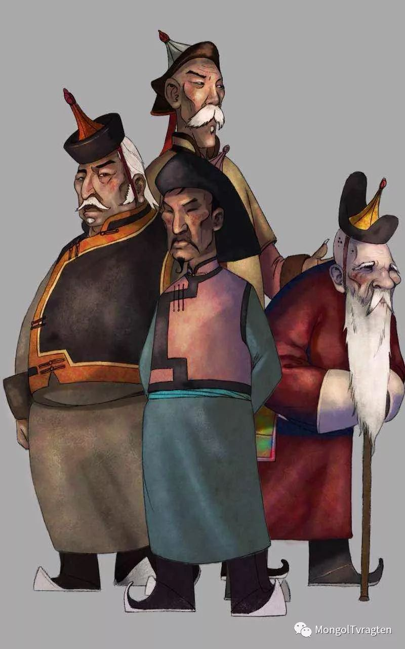 蒙古族插图画家--海日瀚ᠮᠣᠩᠭᠣᠯ ᠵᠢᠷᠣᠭᠠᠴᠢ- ᠬᠠᠢᠷᠬᠠᠨ