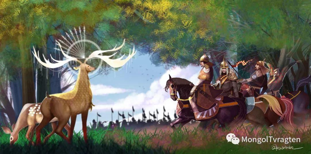 蒙古族插图画家--海日瀚ᠮᠣᠩᠭᠣᠯ ᠵᠢᠷᠣᠭᠠᠴᠢ- ᠬᠠᠢᠷᠬᠠᠨ 第5张 蒙古族插图画家--海日瀚ᠮᠣᠩᠭᠣᠯ ᠵᠢᠷᠣᠭᠠᠴᠢ- ᠬᠠᠢᠷᠬᠠᠨ 蒙古画廊
