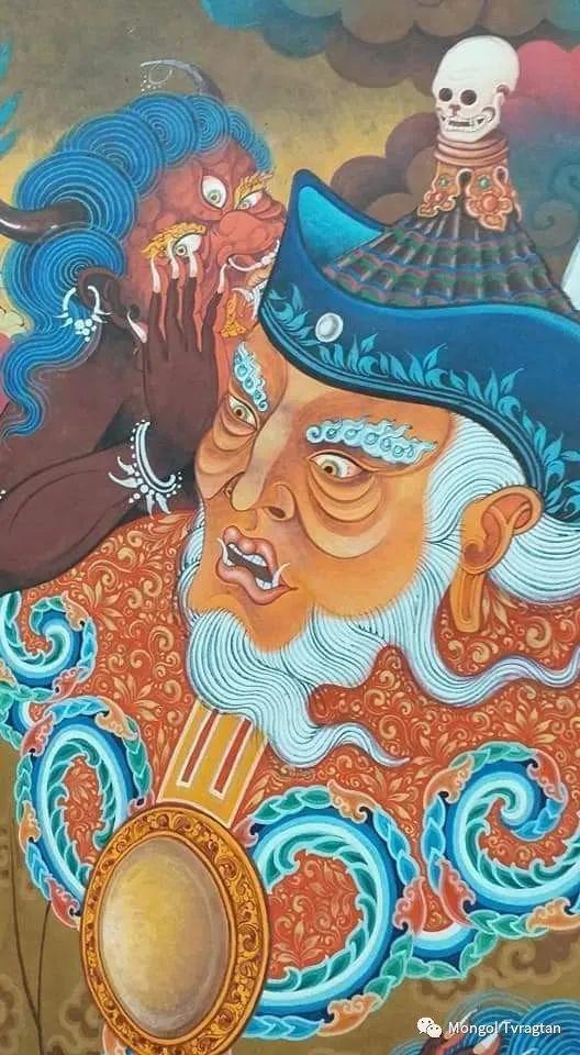 蒙古画家-- 拉哈仁亲 ᠤᠷᠠᠨ ᠵᠢᠷᠤᠭ-ᡀᠠᠭᠸᠠᠷᠢᠨᠴᠢᠨ 第9张
