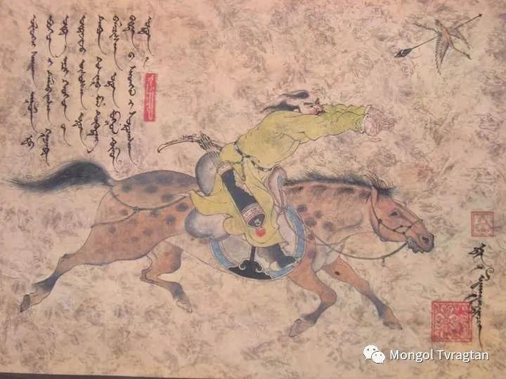 蒙古画家-- 拉哈仁亲 ᠤᠷᠠᠨ ᠵᠢᠷᠤᠭ-ᡀᠠᠭᠸᠠᠷᠢᠨᠴᠢᠨ 第17张