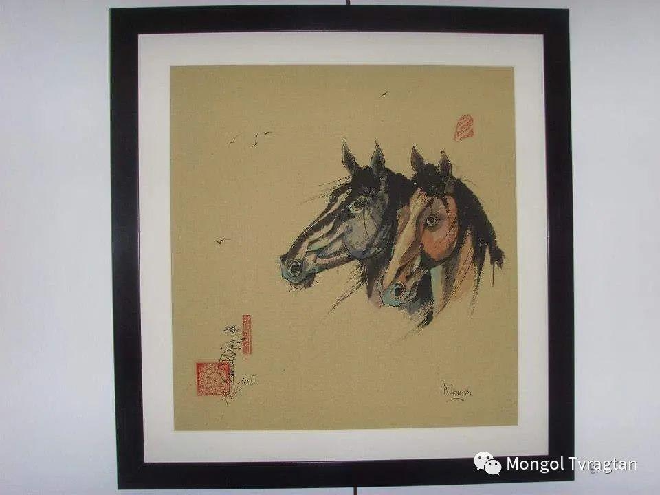 蒙古画家-- 拉哈仁亲 ᠤᠷᠠᠨ ᠵᠢᠷᠤᠭ-ᡀᠠᠭᠸᠠᠷᠢᠨᠴᠢᠨ 第19张