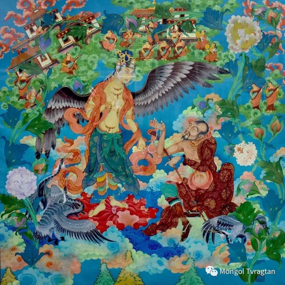 蒙古画家-- 拉哈仁亲 ᠤᠷᠠᠨ ᠵᠢᠷᠤᠭ-ᡀᠠᠭᠸᠠᠷᠢᠨᠴᠢᠨ 第20张