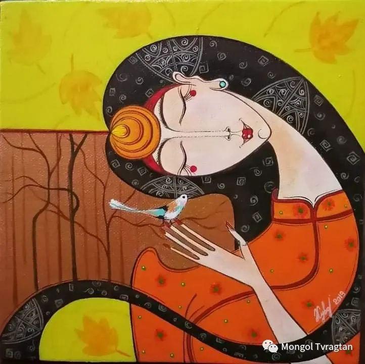 蒙古画家-苏布德玛ᠣᠷᠠᠨ ᠵᠢᠷᠣᠭ -ᠰᠣᠪᠣᠳᠮ ᠡ 第1张 蒙古画家-苏布德玛ᠣᠷᠠᠨ ᠵᠢᠷᠣᠭ -ᠰᠣᠪᠣᠳᠮ ᠡ 蒙古画廊