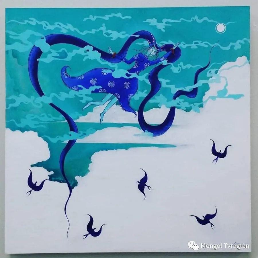 蒙古画家-苏布德玛ᠣᠷᠠᠨ ᠵᠢᠷᠣᠭ -ᠰᠣᠪᠣᠳᠮ ᠡ 第12张 蒙古画家-苏布德玛ᠣᠷᠠᠨ ᠵᠢᠷᠣᠭ -ᠰᠣᠪᠣᠳᠮ ᠡ 蒙古画廊