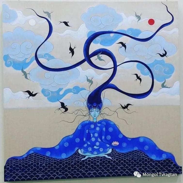 蒙古画家-苏布德玛ᠣᠷᠠᠨ ᠵᠢᠷᠣᠭ -ᠰᠣᠪᠣᠳᠮ ᠡ 第20张 蒙古画家-苏布德玛ᠣᠷᠠᠨ ᠵᠢᠷᠣᠭ -ᠰᠣᠪᠣᠳᠮ ᠡ 蒙古画廊