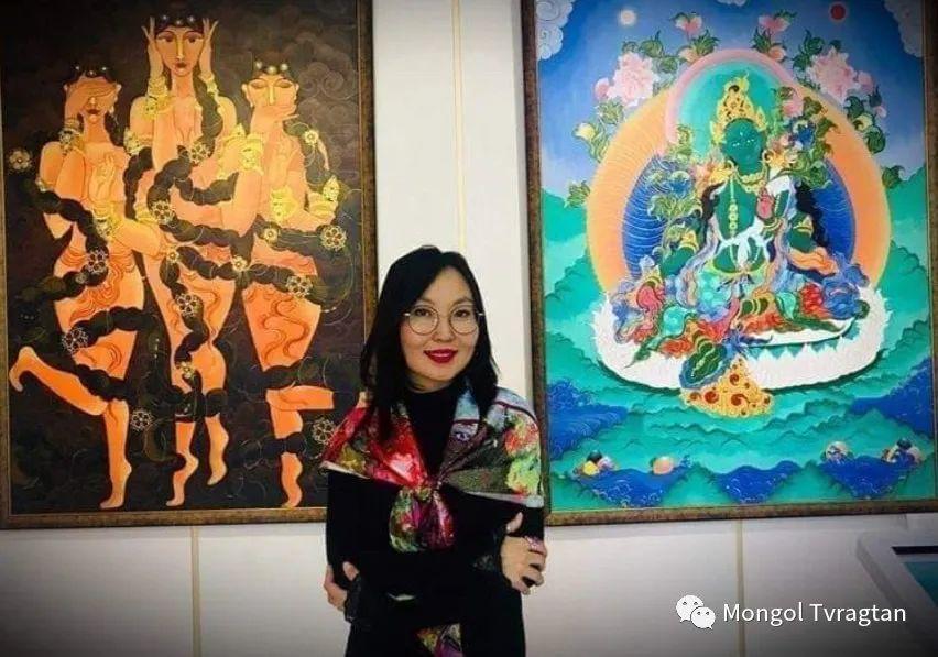 蒙古画家-苏布德玛ᠣᠷᠠᠨ ᠵᠢᠷᠣᠭ -ᠰᠣᠪᠣᠳᠮ ᠡ 第21张 蒙古画家-苏布德玛ᠣᠷᠠᠨ ᠵᠢᠷᠣᠭ -ᠰᠣᠪᠣᠳᠮ ᠡ 蒙古画廊
