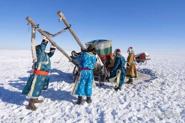 乌珠穆沁草原蒙古族搬家走场全过程 第4张 乌珠穆沁草原蒙古族搬家走场全过程 蒙古文化