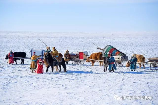 乌珠穆沁草原蒙古族搬家走场全过程 第3张 乌珠穆沁草原蒙古族搬家走场全过程 蒙古文化