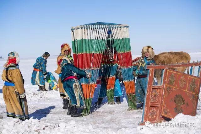 乌珠穆沁草原蒙古族搬家走场全过程 第16张 乌珠穆沁草原蒙古族搬家走场全过程 蒙古文化