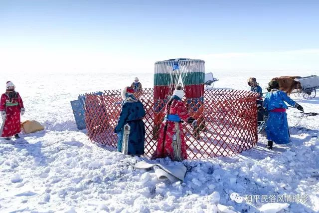 乌珠穆沁草原蒙古族搬家走场全过程 第17张 乌珠穆沁草原蒙古族搬家走场全过程 蒙古文化
