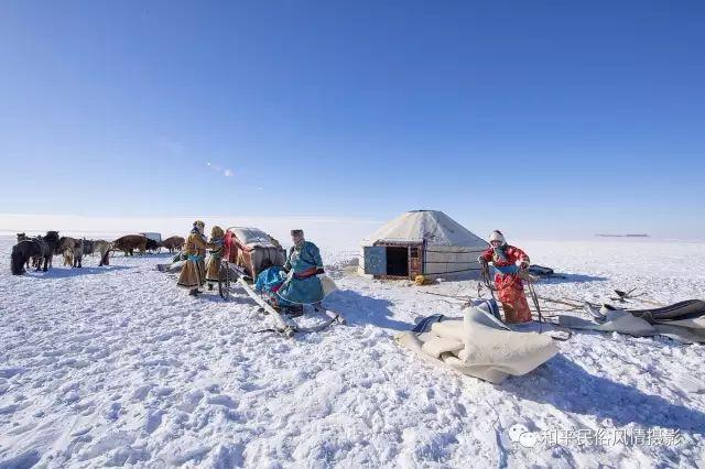 乌珠穆沁草原蒙古族搬家走场全过程 第23张 乌珠穆沁草原蒙古族搬家走场全过程 蒙古文化